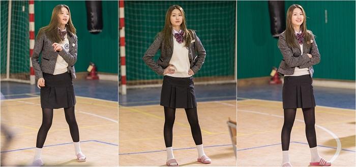 모델 교복핏 김진경