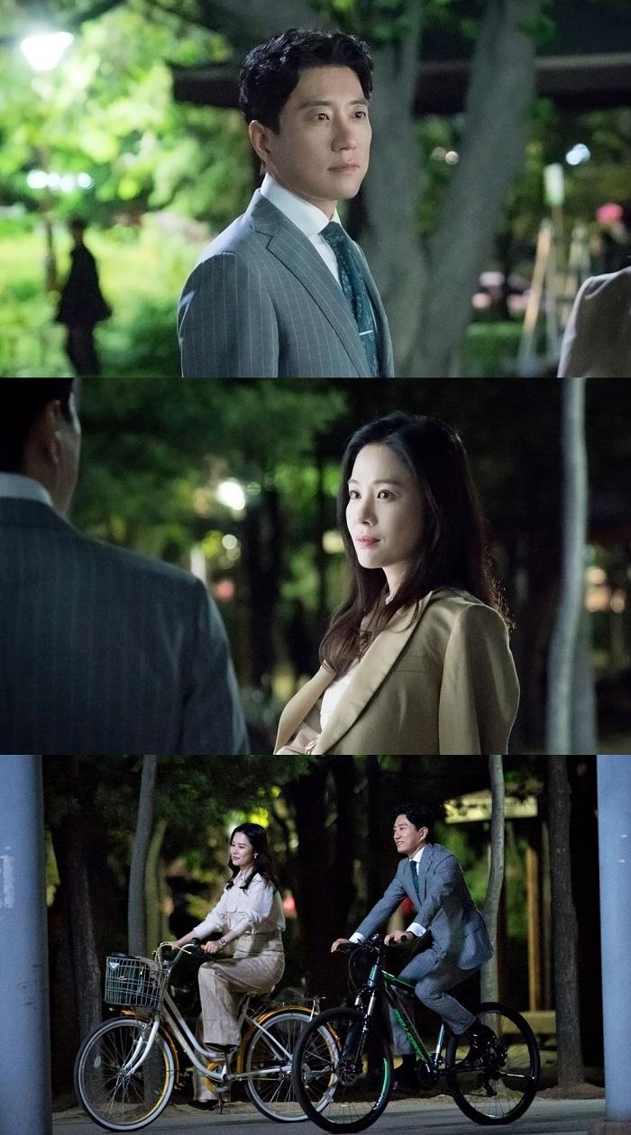180508 - KBS 월화 우리가 만난 기적 김명민-김현주, 봄날의 자전거 데이트