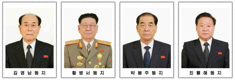 정치국 상무위원회 위원들