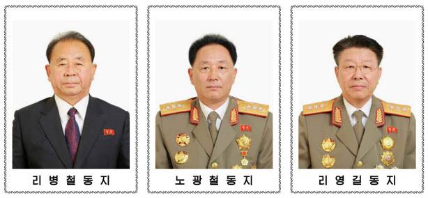 정치국 후보위원들3